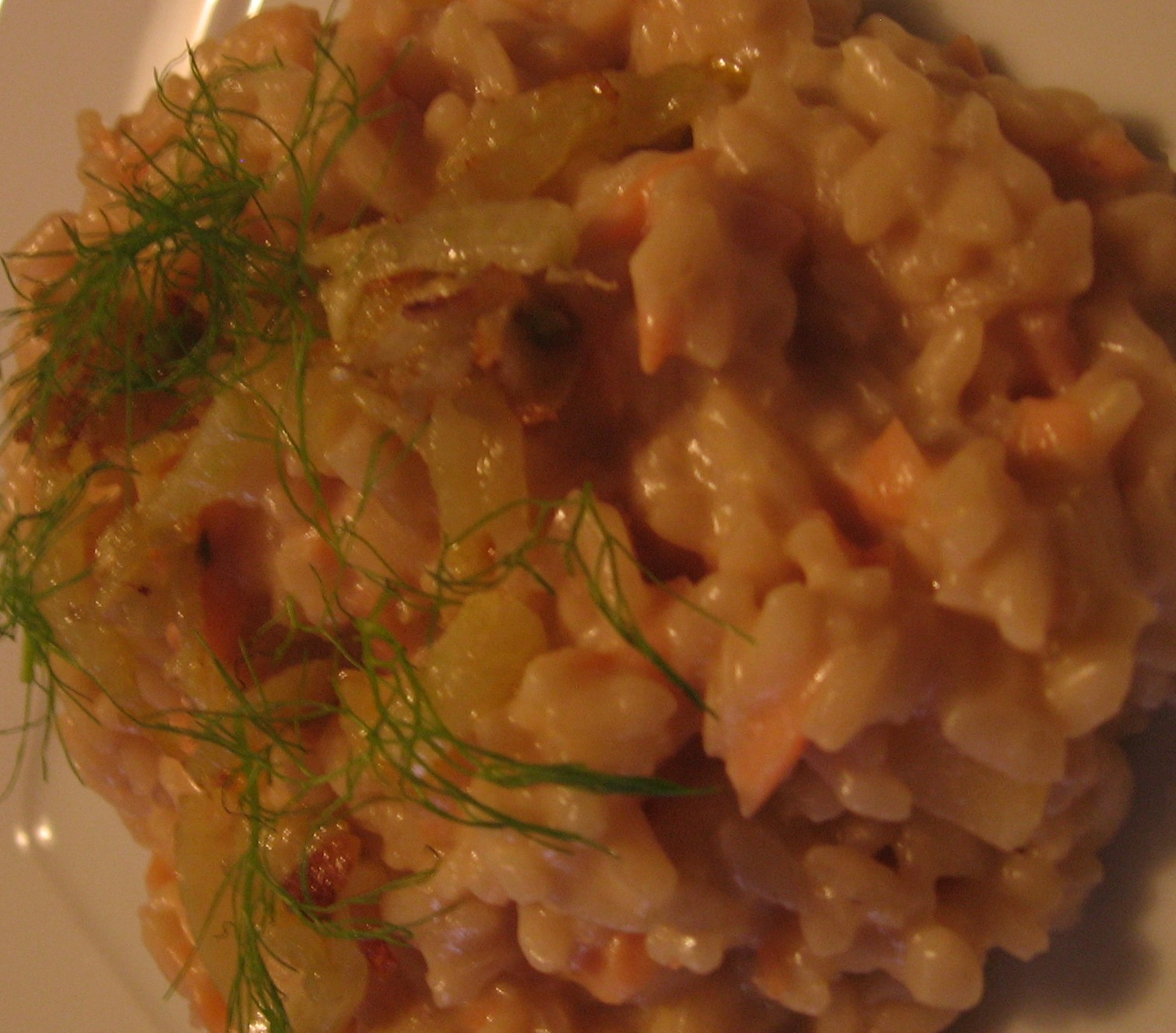 Smoked Salmon Risotto