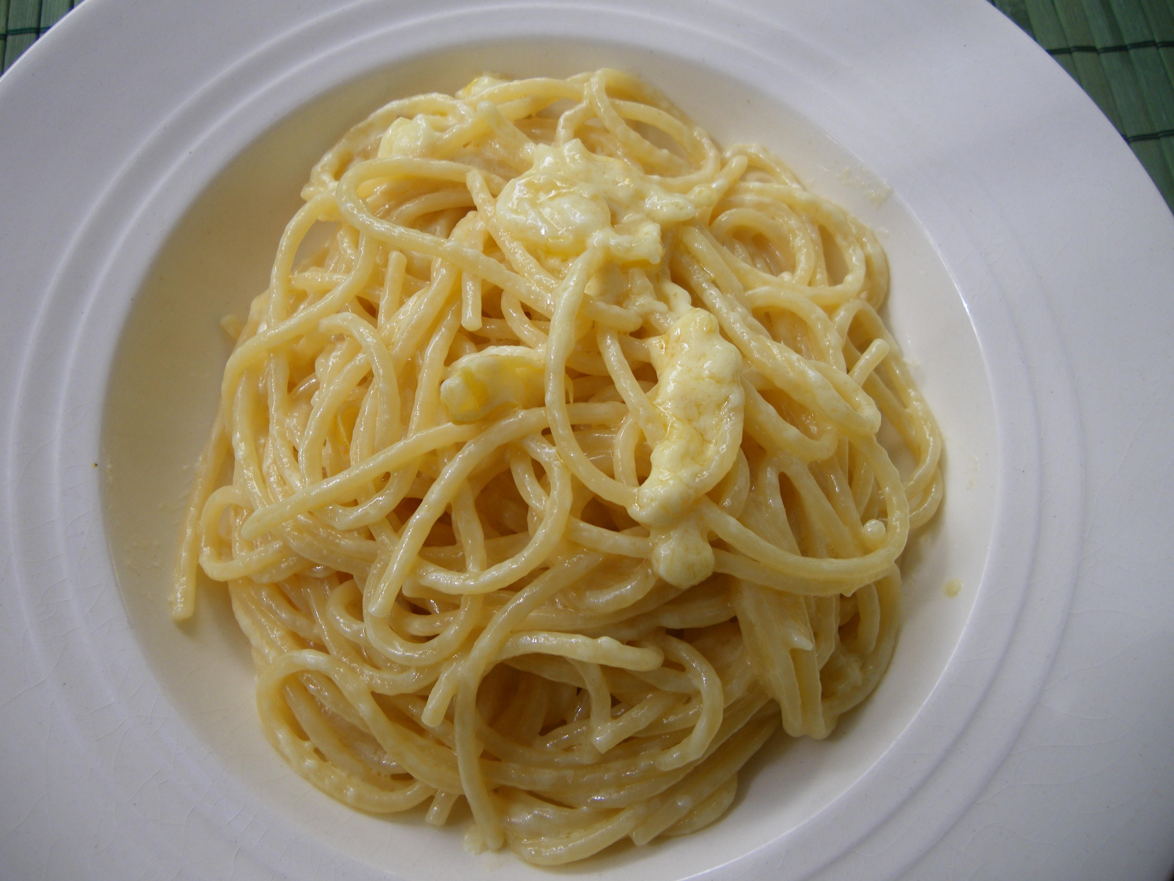 Pasta with caciocavallo & lemon